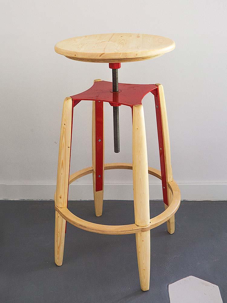 барный стул в стиле лофт купить в интернет магазине АЗбуккаДекор.рф