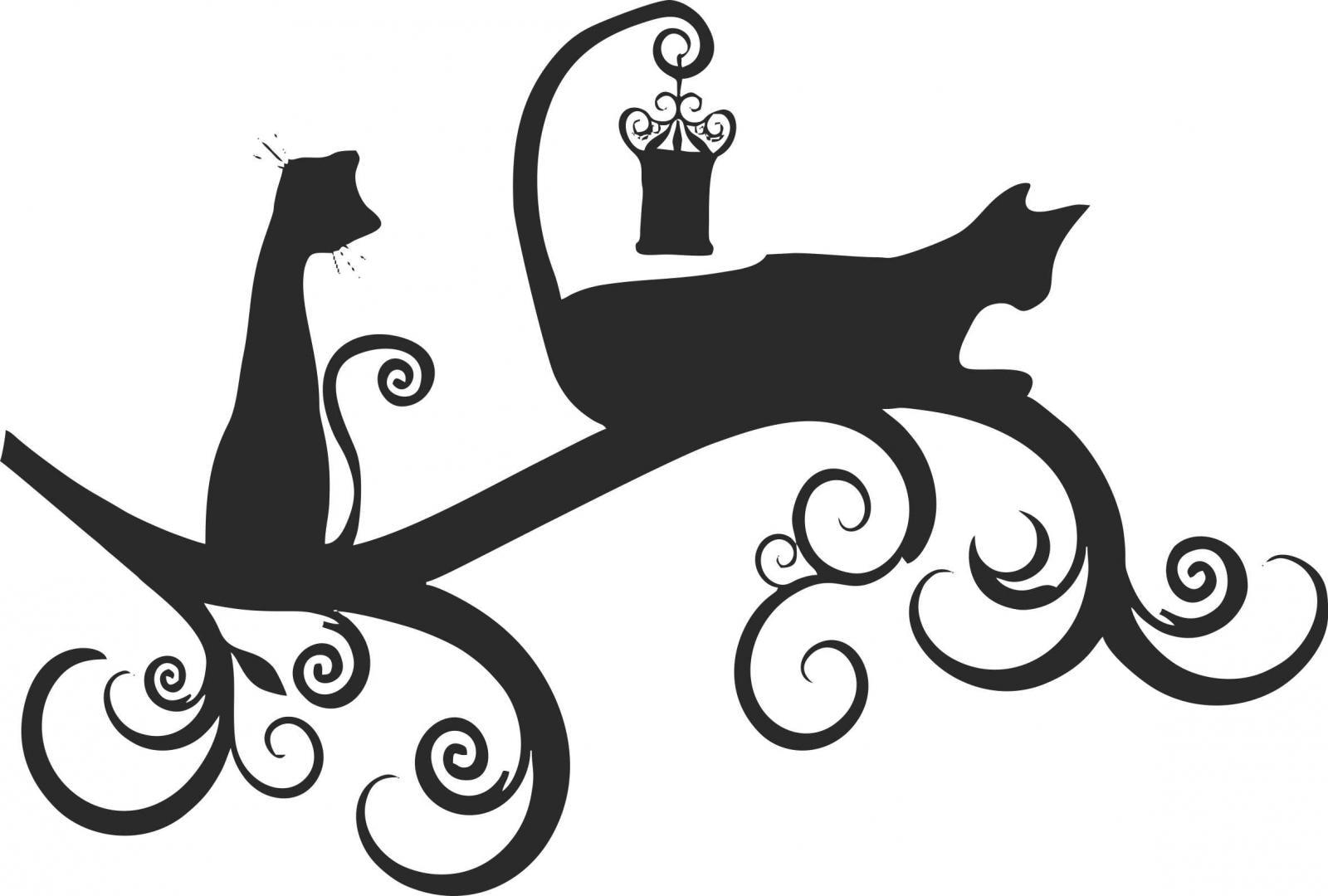 Трафареты кошек для декора своими руками шаблоны