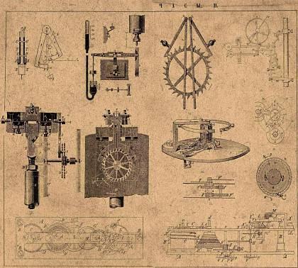 Часовые механизмы маятниковый